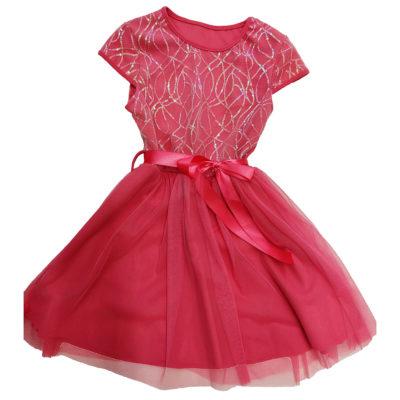 Φόρεμα κοραλί τούλι