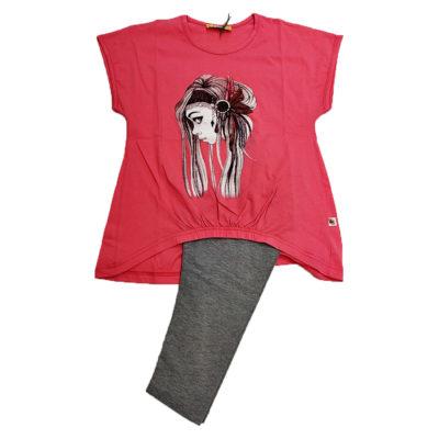 Μπλουζοφόρεμα με κάπρι κολάν Explode