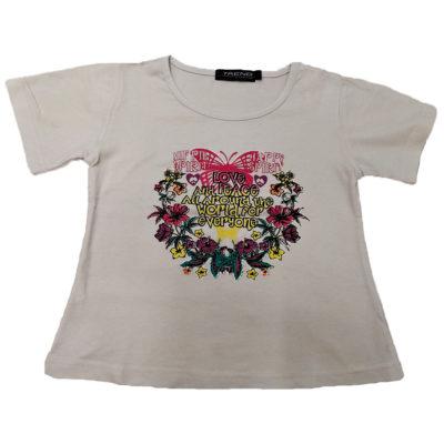 Κοντό μπλουζάκι happy spirit