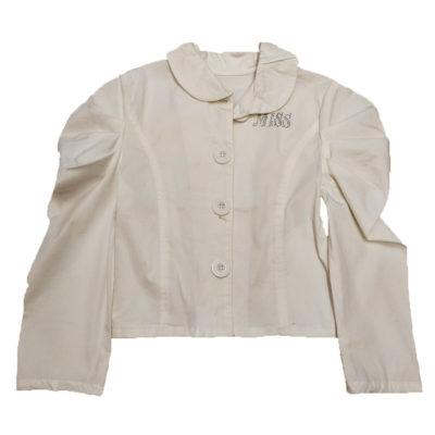Σακάκι λευκό με ώμους