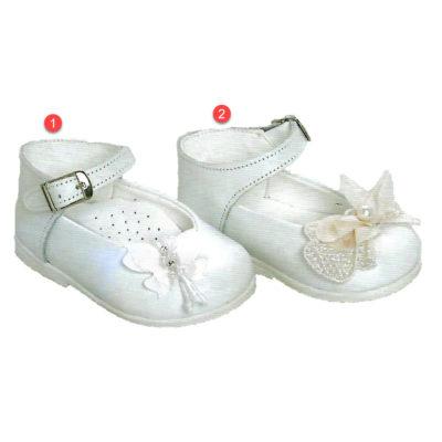 Βαπτιστικό παπουτσάκι με πεταλουδίτσα, περπατήματος, ανατομικά