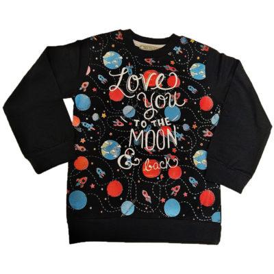 Μπλουζάκι love you to the moon New College