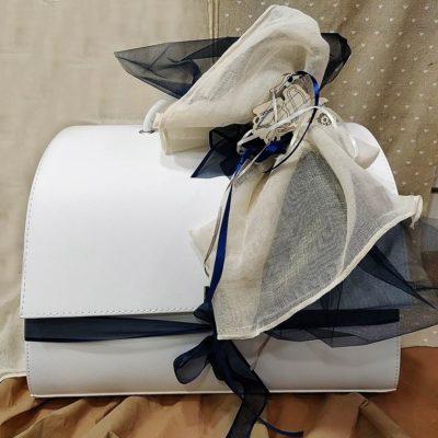 Βαλίτσα - Τσάντα λευκή Makis Tselios