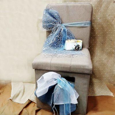 Σκαμπό - Καρέκλα με θέμα τον ταξιδιώτη