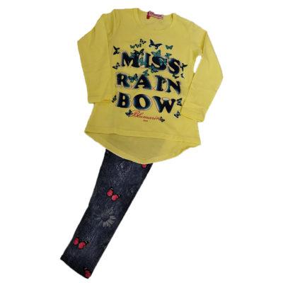 Μπλουζοφόρεμα ανοιξιάτικο Miss Rainbow