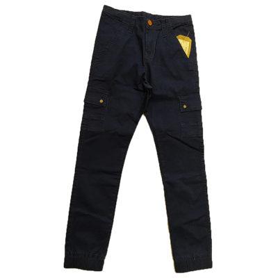 Παντελόνι μπλε με τσέπες New College