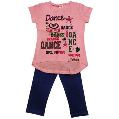 Μπλουζοφόρεμα dance ροζ της εταιρείας spring