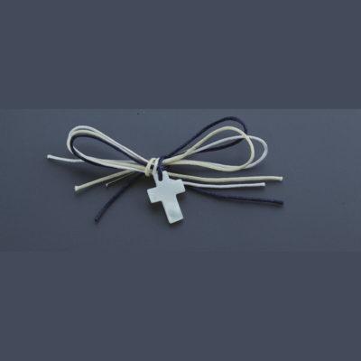 Μαρτυρικο φιογκάκι με σταυρό Nuova Vita