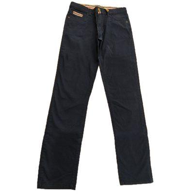 Παντελόνι μπλε με ριγέ σχέδιο New College
