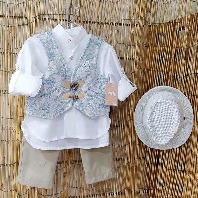 Βαπτιστικό κοστούμι Makis Tselios 3