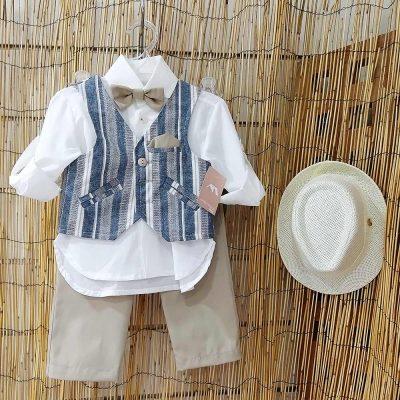 Βαπτιστικό κοστούμι Makis Tselios 4