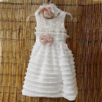 Βαπτιστικό φόρεμα Makis Tselios 19