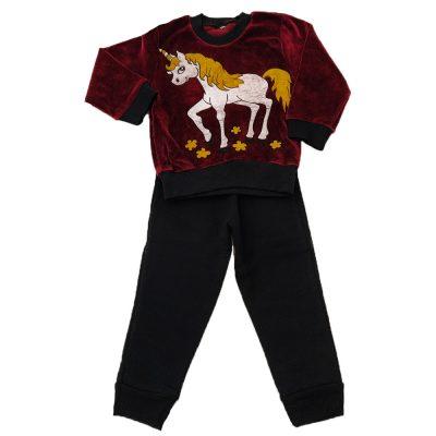 Φόρμα βελουτέ Unicorn