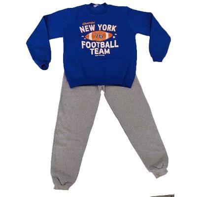 Φόρμα football team μπλε ρουά(πορτοκαλί)