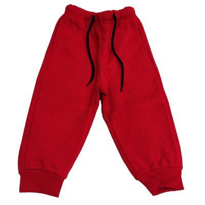 Παντελόνι φόρμας κόκκινο με κορδόνι