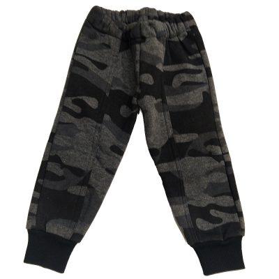 Παντελόνι φόρμας γκρι στρατιωτικό με ραφή