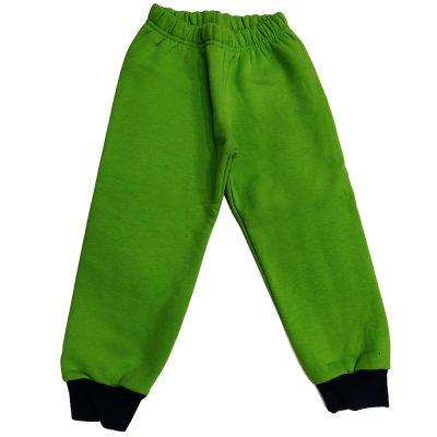 Παντελόνι φόρμας πράσινο με σκούρο λάστιχο