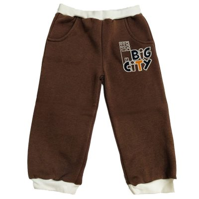 Παντελόνι φόρμας καφέ big city