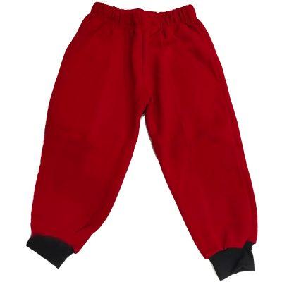 Παντελόνι φόρμας κόκκινο με σκούρο λάστιχο
