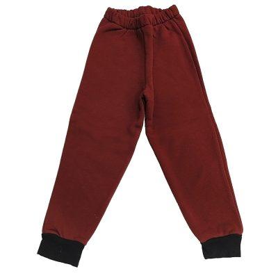 Παντελόνι φόρμας μπορντό σκούρο