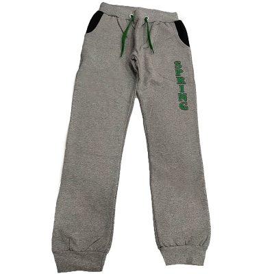 Παντελόνι φόρμας γκρι-πράσινο
