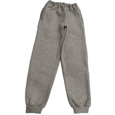 Παντελόνι φόρμας γκρι μονόχρωμο τσέπες