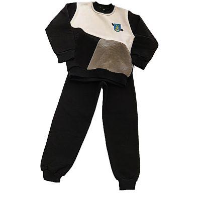 Φόρμα Φόρμα τρίχρωμη γκρι-μαύρογκρι-μαύρο