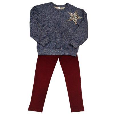 Μπλουζοφόρεμα μπλε με αστέρι