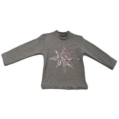 Μπλουζάκι φούτερ με αστέρι