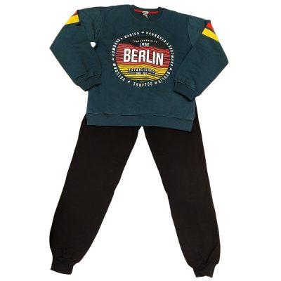 Φόρμα berlin με ρίγα New College