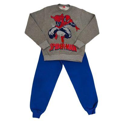 Φόρμα spiderman γκρι-μπλε