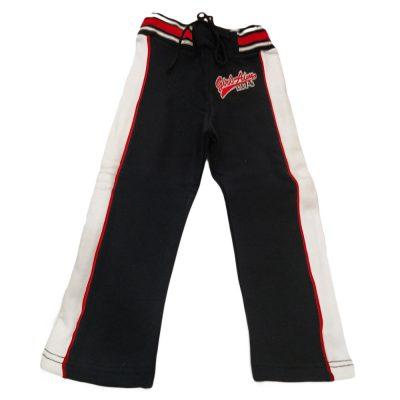 Παντελόνι φόρμας μαύρο με ρίγα
