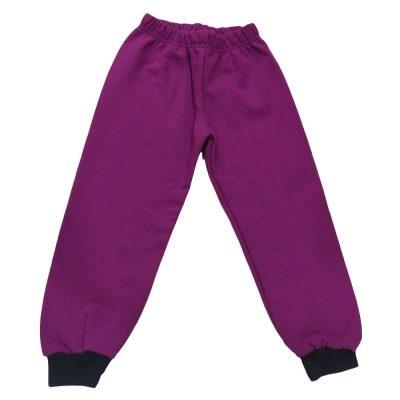 Παντελόνι φόρμας μωβ με σκούρο λάστιχο