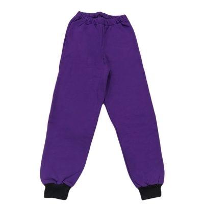 Παντελόνι φόρμας μωβ σκούρο