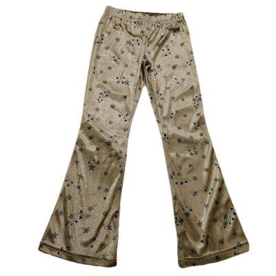 Παντελόνα βελουτέ εφαρμοστή με αστέρια new college
