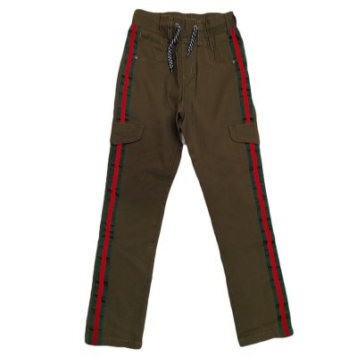 Παντελόνι με λάστιχο και ρίγα