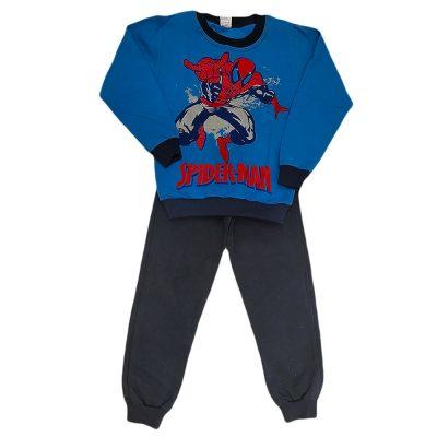 Φόρμα spiderman μπλε -μπλε σκούρο παντελόνι