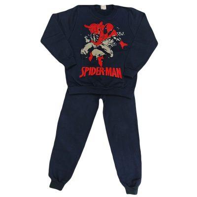 Φόρμα spiderman μπλε σκούρο