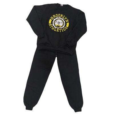 Φόρμα brooklyn athletics μαύρο(κίτρινο)