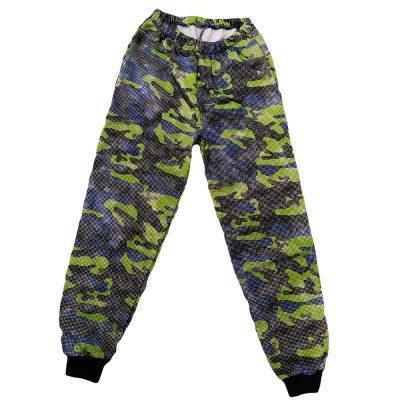 Παντελόνι φόρμας στρατιωτικό μπλε-πράσινο