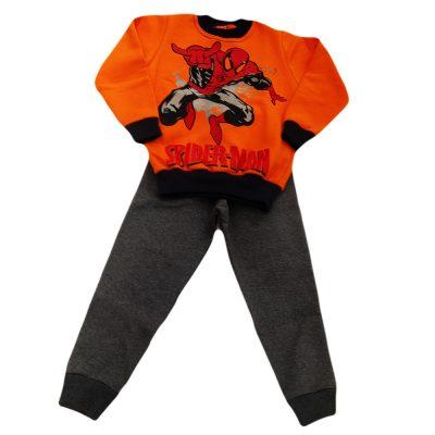Φόρμα spiderman πορτοκαλί