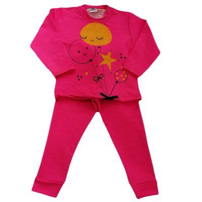 Φόρμα μπαλονάκια ροζ έντονη