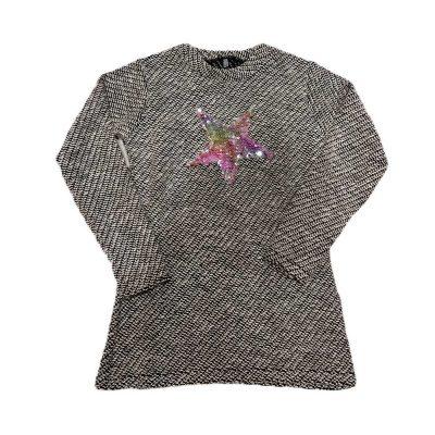 Μπλουζοφόρεμα-πουλοβεράκι με αστέρι