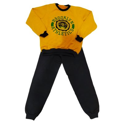 Φόρμα brooklyn athletics μουστραδί-μαύρο