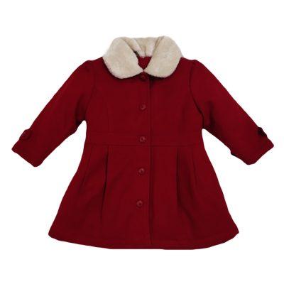 Παλτό κόκκινο σκούρο new college