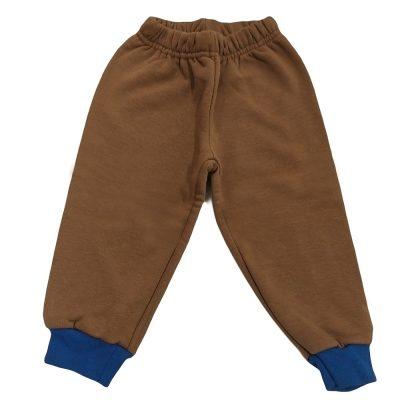 Παντελόνι φόρμας καφέ μπλε