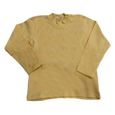 Μπλούζα μονόχρωμη κίτρινο απαλό