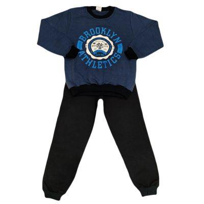 Φόρμα brooklyn athletics μπλε λεπτή