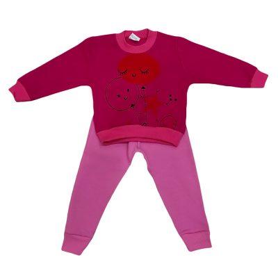Φόρμα μπαλονάκια ροζ σετ