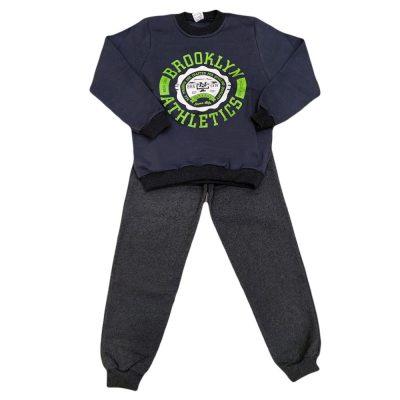 Φόρμα brooklyn athletics μπλε γκρι σκούρο (πράσινο)